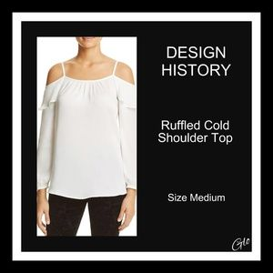 8c3a5c57fdf0c NWOT Design History Cold Shoulder top
